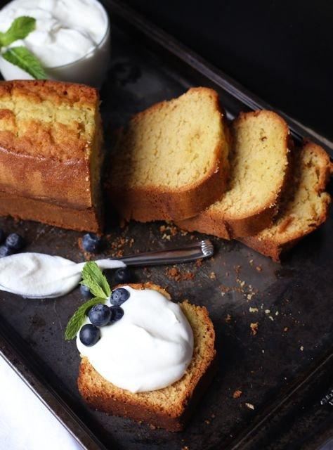Limoncello Soaked Pound Cake
