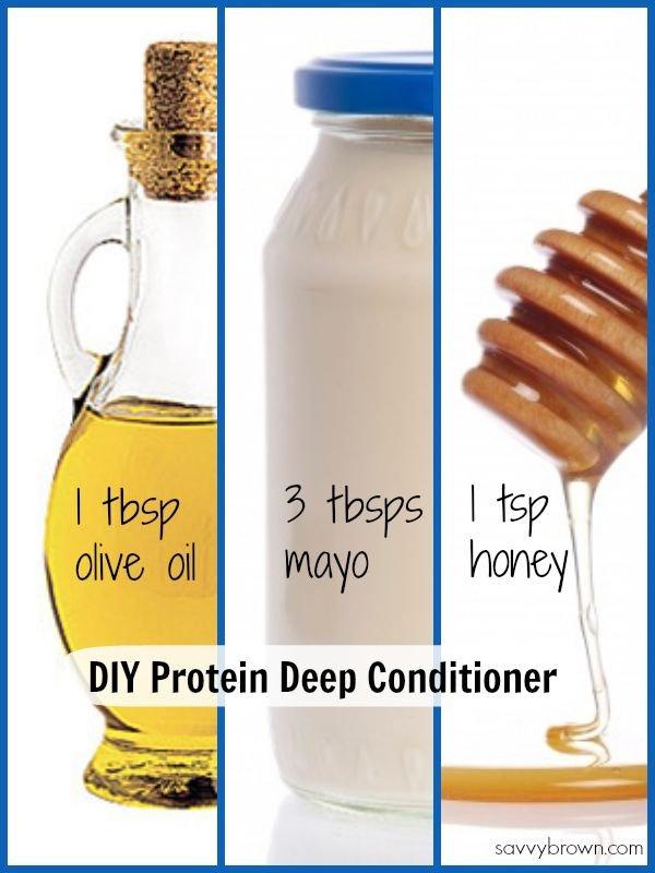DIY Protein Treatment for Hair