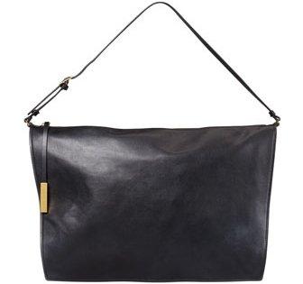 Faux-Napa Big Shoulder Bag