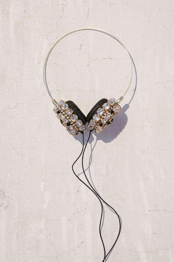 Skinnydip X Zara Martin Bling Headphones