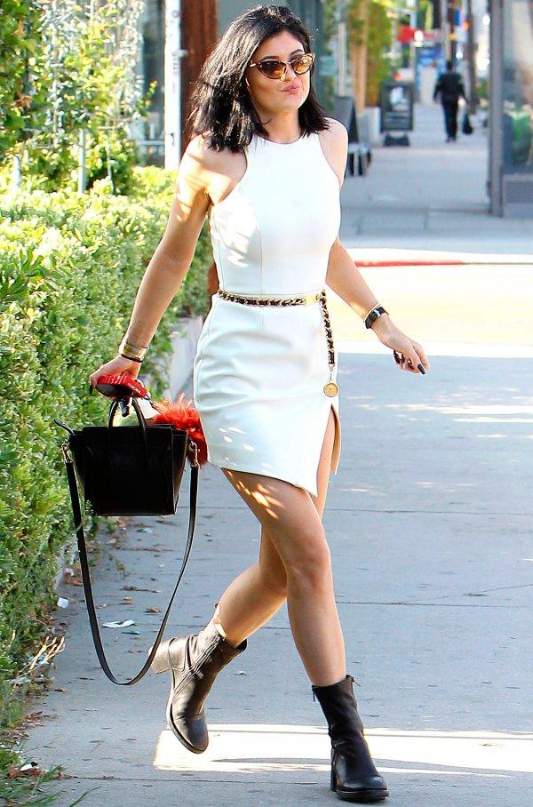 Kylie Rocking a LWD