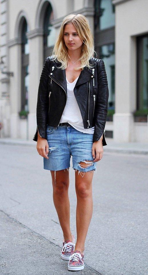 denim, clothing, footwear, jacket, leather,