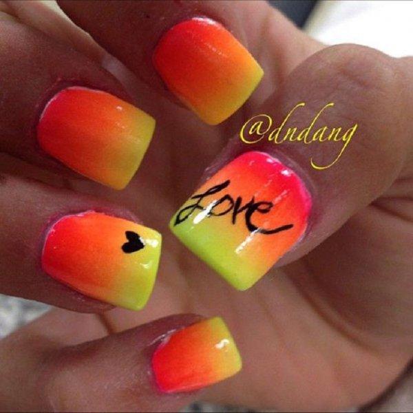 color,nail,finger,nail care,orange,