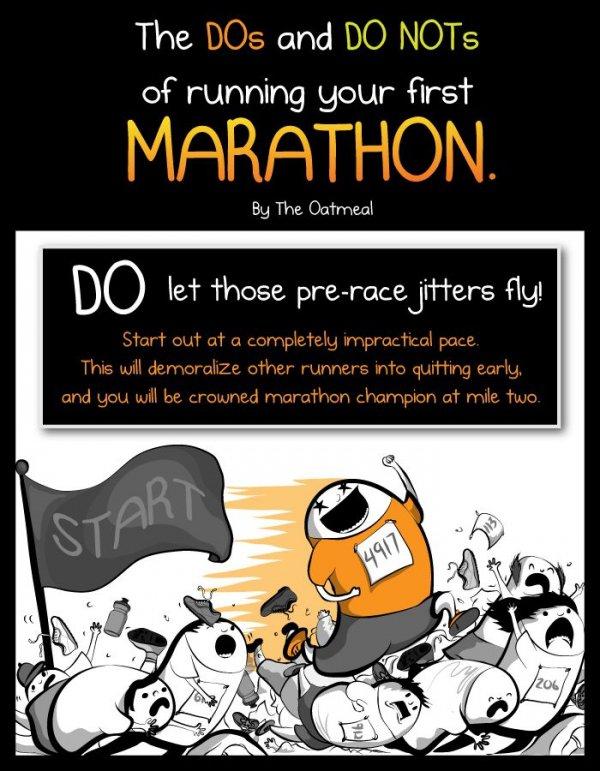 Pre-Race Jitters