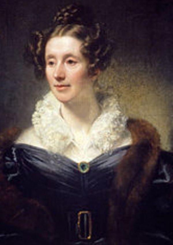 portrait, lady, painting, fur, girl,