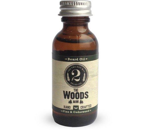 The Woods Man Beard Oil, Pine & Cedarwood