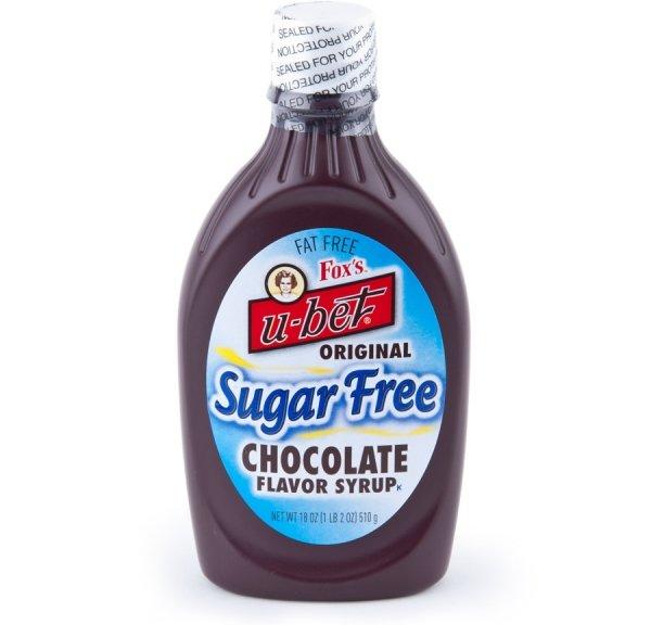 Fox's U-Bet Sugar-Free Chocolate Syrup