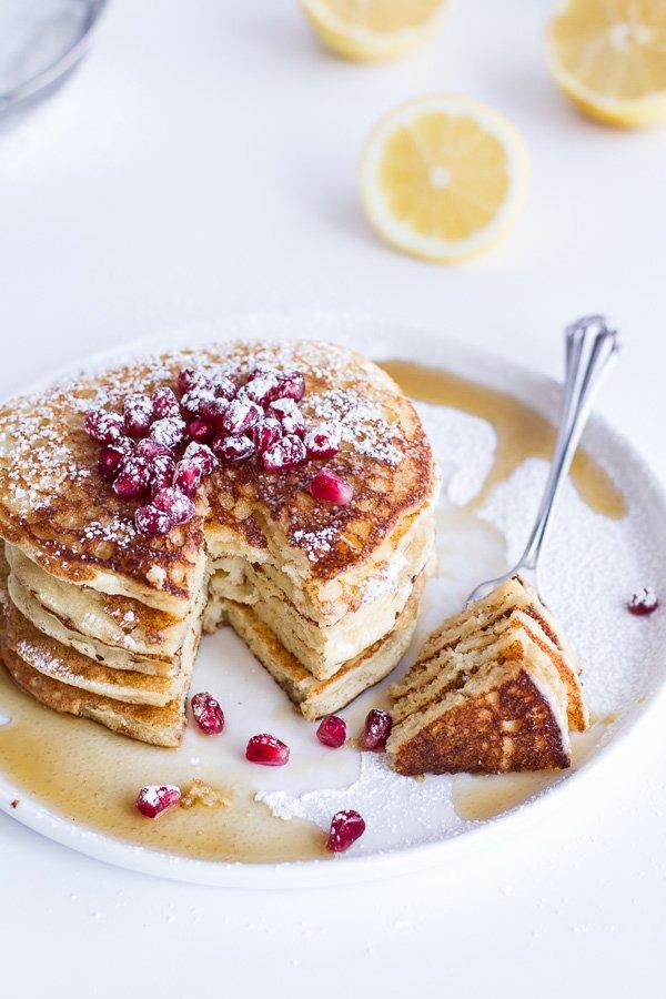 Ricotta-Lemon Pancake