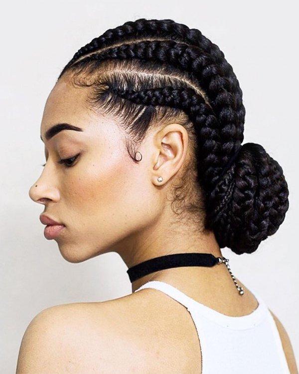 hair, hairstyle, black hair, cornrows, head,