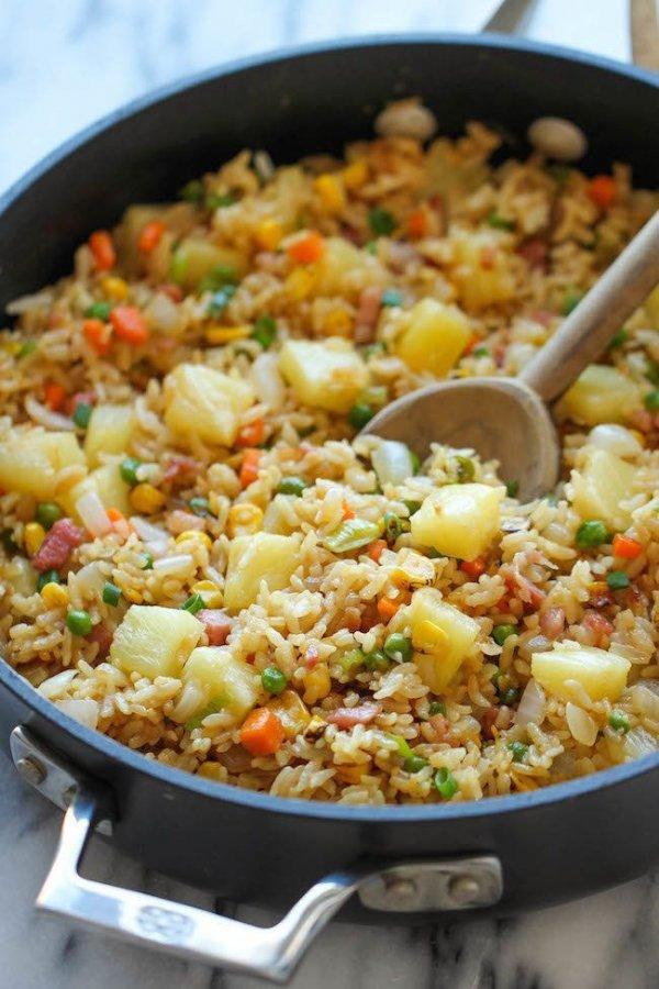 Dish, Food, Cuisine, Thai fried rice, Rice,
