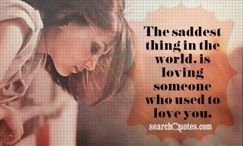 The Saddest Thing