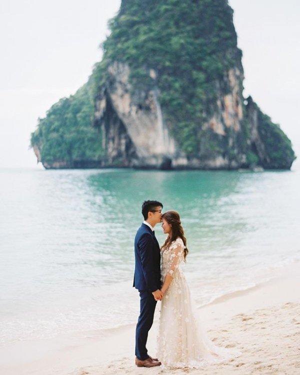 Tham Phra Nang Beach, vacation, sea, coast, bay,