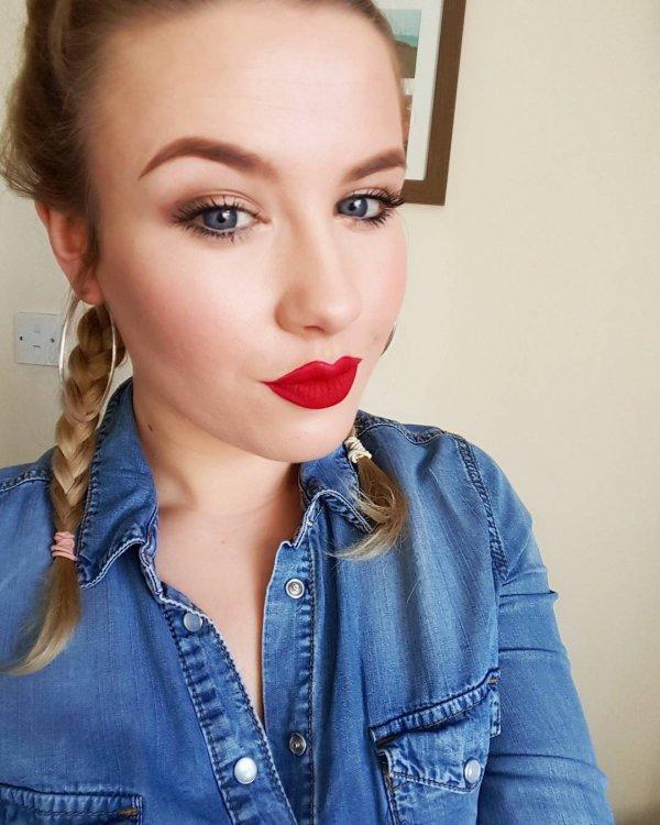 Gemma's Red Lip
