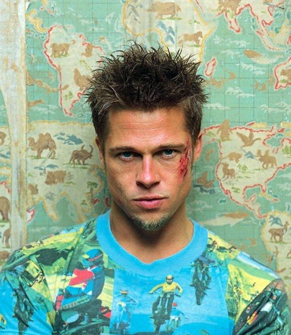 Brad Pitt Playing Tyler Durden