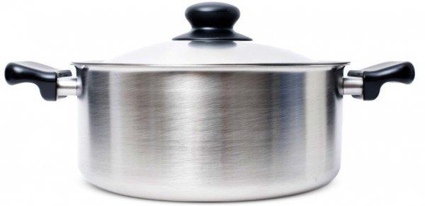 Stainless Steel Pan (Shallow) by Sori Yanagi