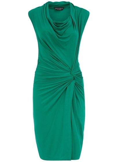 Dorothy Perkins Twist Cowl Neck Dress