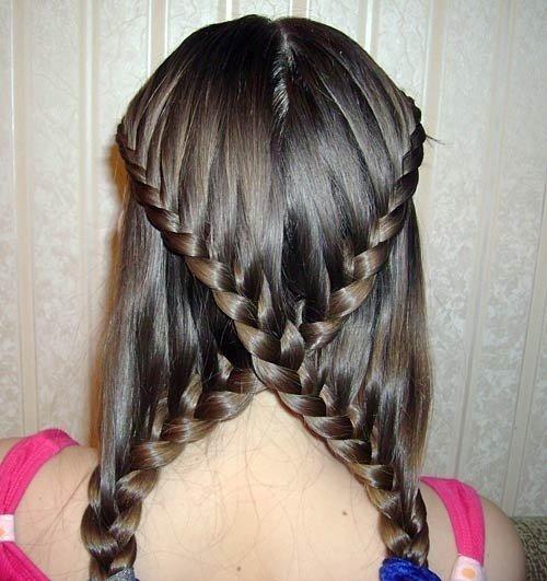 A Braid for Long Hair