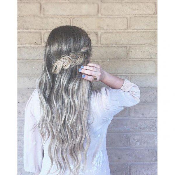 hair, hairstyle, long hair, chignon, brown hair,