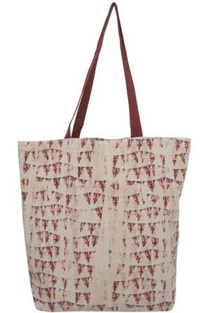 Topshop Union Jack Bunting Shopper Bag
