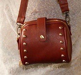 Woodmin Retro Camera Leather Case Bag