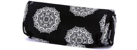 Black Maddie Jewelry Roll