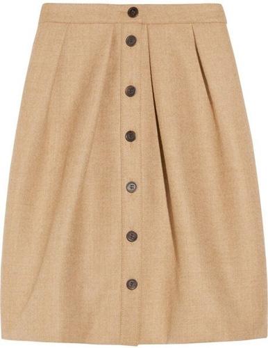 J.Crew Flair Wool Skirt
