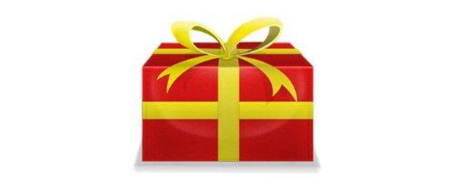 yellow, product, gift, box,