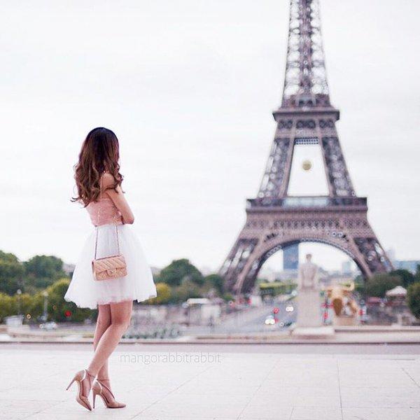 Eiffel Tower, vacation, landmark, mangonabstrab,