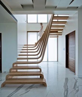 Sculptural Stairway