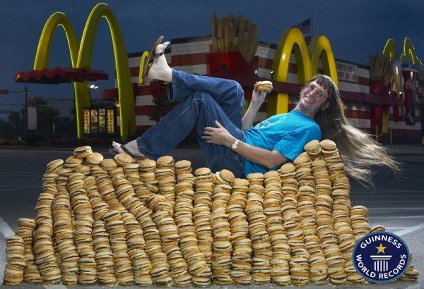Most Big Macs Eaten