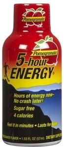 5 Hour Energy Shots