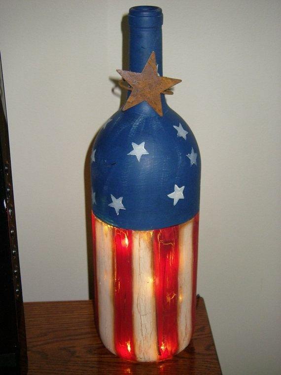 Lighted Patriotic