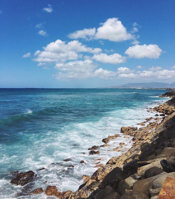 sea, color, shore, blue, vacation,