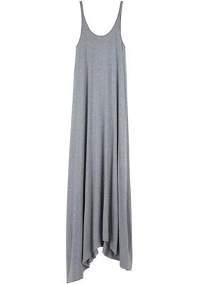 T by Alexander Wang Asymmetric Long Dress