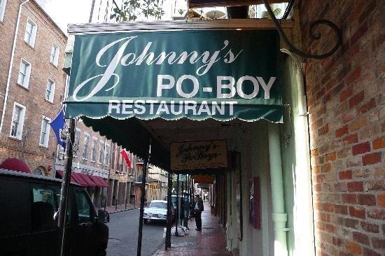 Johnny's Po-Boy, New Orleans, Louisiana