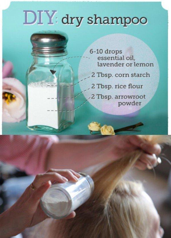 Make You Own Dry Shampoo!
