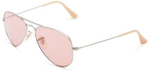 Aviator Sunglasses, Matte Nude/Pink