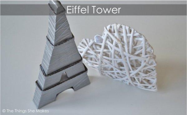 Cardboard Eiffel
