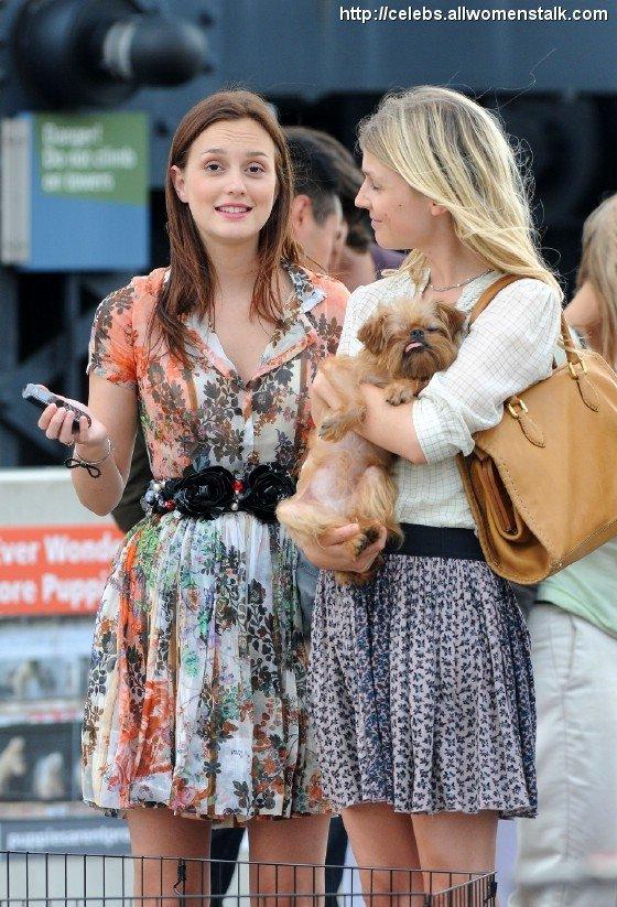 Leighton Meester on Gossip Girl