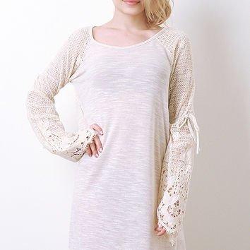 Soft Knit Tunic Sweater Dress
