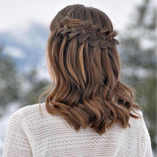 hair, hairstyle, brown, long hair, braid,