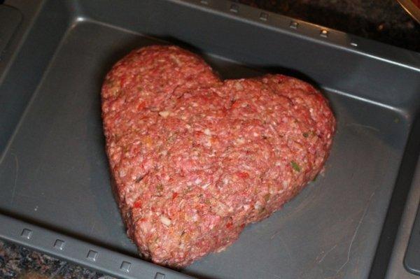 Heart Shaped Meatloaf