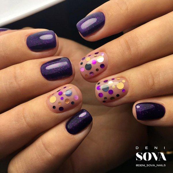 color, nail, finger, purple, nail care,