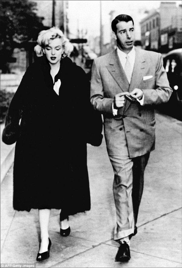 Marilyn Monroe and Joe DiMaggio