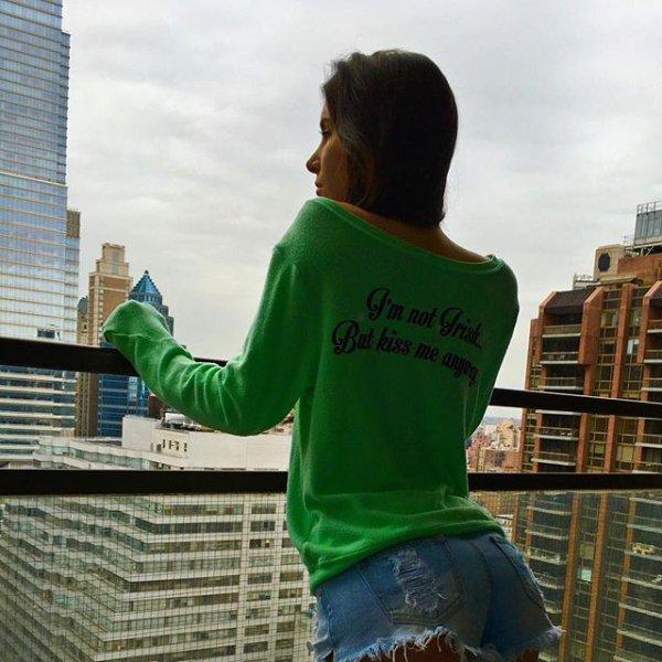 green, t shirt, IHI,