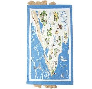 Map of the Hamptoms