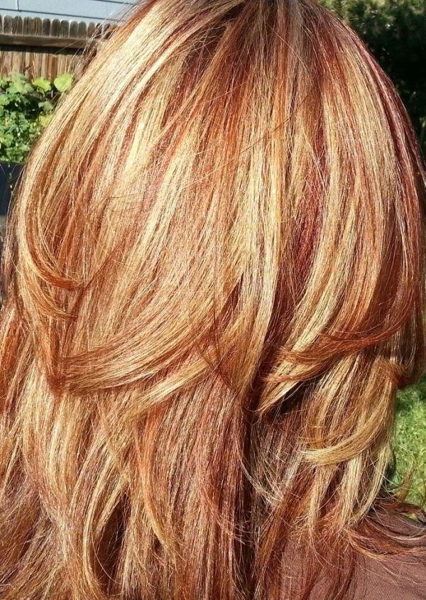 Auburn Hair Blonde Highlights 72 Fabulous Ideas For