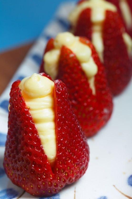 Cream Cheese Strawberries