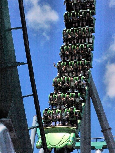 amusement park,man made object,roller coaster,landmark,amusement ride,