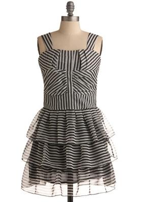 Striped Sexy Dress